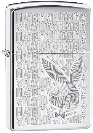 Zippo Playboy Cromo - Encendedor de cocina (Cromo, 1 pieza(s)): Amazon.es: Deportes y aire libre