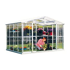 8×6 Polycarbonate Greenhouse