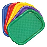 Jack Richeson Plastic Jack Riches on 400995 Multi Color Art Trays (Set of 5)