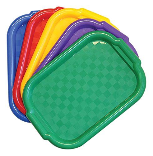 Jack Richeson Plastic Jack Riches on 400995 Multi Color Art Trays (Set of 5) by Jack Richeson