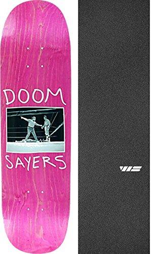 Doomsayers Club ノックアウト アソートカラー スケートボードデッキ - 8.38インチ x 32.25インチ Jessup WSダイカットグリップテープ - 2アイテムセット   B07D4FGDZL, アグリランド 73f0c4f0