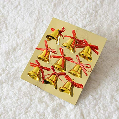 FlatSome Minnie Mouse Bell 2019, DIY Mini Gold Jingle Bell Clock Bow Letter Cards - Santa Wreaths, Coca Cola Red Bell, Bell Opener, Sankyo Music Box Movement, Gold Charms Lots