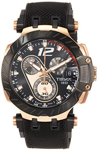 Tissot Mens T- Race Moto GP 2019 Chronograph Limited Edition Rose Tone T1154173705700