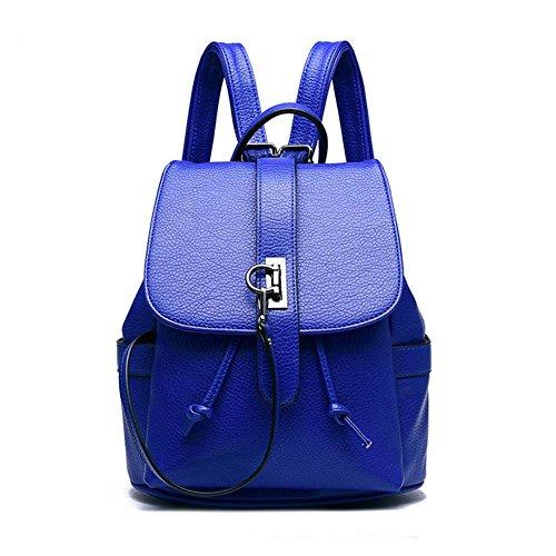 Ddfly - Bolso mochila  para mujer, azul (azul) - ZCA003 azul