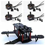 iFLY® DIY Combo Kit ZMR180mm Mini Full 3K Carbon Fibe Frame+PCB+4pcs iFLY® IF2204 2300KV Brushless Motor