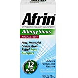 Afrin Nasal Spray 12 Hour Relief, Allergy Sinus, 0.5 fl oz (Pack of 6)
