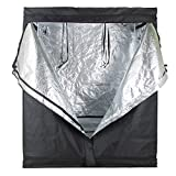 "Cheap Ogori Hydroponic Indoor Grow Tent, 600D Heavy Duty Mylar Hydroponic Non Toxic Clone Hut Fabric Grow Room for Efficient Indoor Plant Growth (48""X24""X60"")"