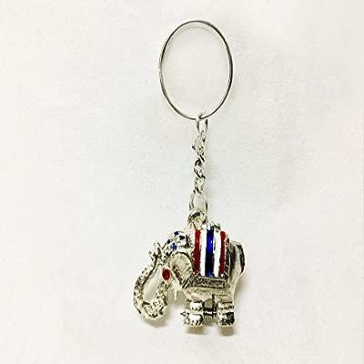 Miss Bangkok Lucky elefante llavero con pastillero oculta ...