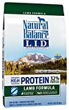 Natural Balance Limited Ingredient Diets High Protein Dry Dog Food, Lamb Formula, Grain Free, 24-Pound