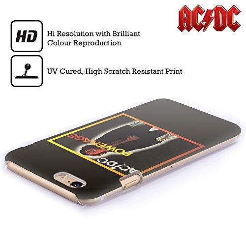 Officiel AC/DC ACDC Powerrage Couverture D'album Étui Coque D'Arrière Rigide Pour Apple iPhone 4 / 4S