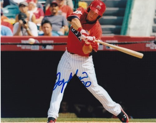 Logan Morrison Signed - Autographed Team USA - Florida Marlins 8x10 inch Photo ()