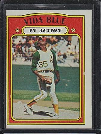 1972 Topps Vida Blue As Baseball Card 170 At Amazons Sports