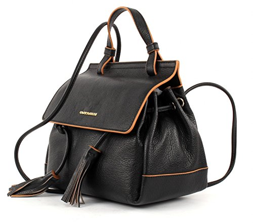 COCCINELLE Jessie Saddle Bag Nero