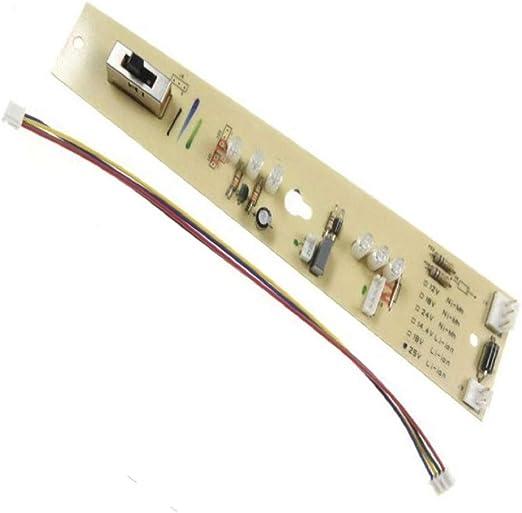 Rowenta - Tarjeta de circuito impreso (PCB) para escobas eléctricas Air Force Extreme de 25 V / 25,2 V RH8871, RH8872, RH8874 y RH8876: Amazon.es: Hogar