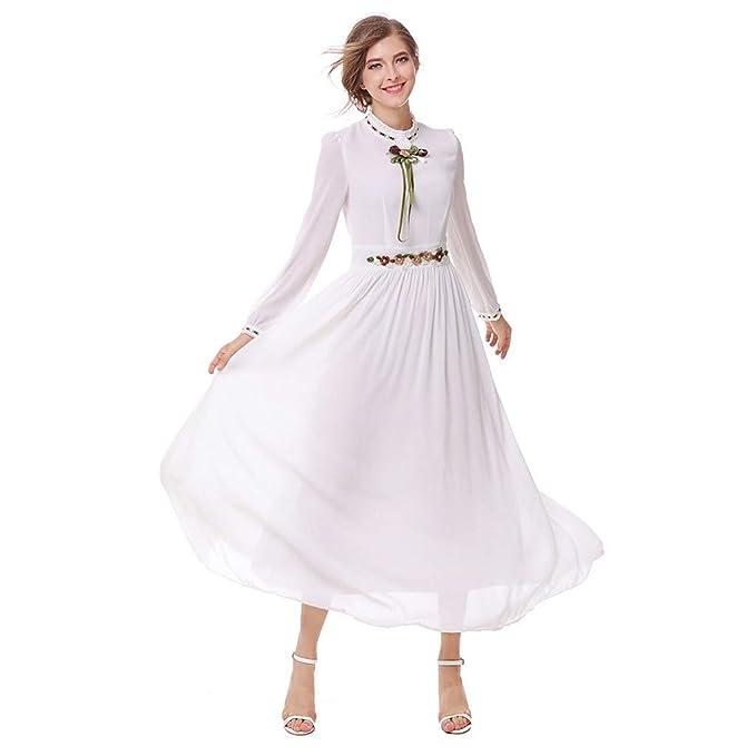 Delle Estate Miniabito Donne Vestito Manica Semplice Elegante Swing rCBxdoe