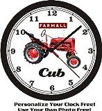 1949 FARMALL CUB TRACTOR WALL CLOCK-FREE USA SHIP!