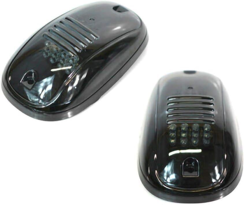 HELLOGIRL 5 X 12 Led Fum/é Cabine Marqueur Lumi/ère Top Toit Toit Feux de Circulation Clairance Lampe Chaude pour Voiture Camions