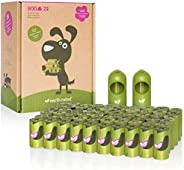 Earth Rated Eco-Friendly Dog Poop Bags, 900 Extra Thick and Strong Poop Bags for Dogs, Guaranteed Leak-Proof,