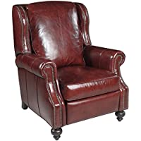 Hooker Furniture Balmoral Cornwall Recliner in Red