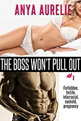 The Boss Won't Pull Out, #1 (Forbidden, fertile, interracial, cuckold, pregnancy)