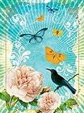Cloth Journal - Blue Bird