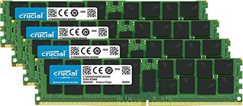Crucial Ct4 K16g4rfd4266 Ddr4 64gb Dimm 288 Pin Computers Accessories
