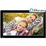 Nixplay Original 18.5 Inch WiFi Cloud Digital Photo Frame. iPhone & Android App, iOS Video Playback, Social Media Integration, Free 10GB Online Storage, Alexa Integration and Hu-Motion Sensor (W18A)
