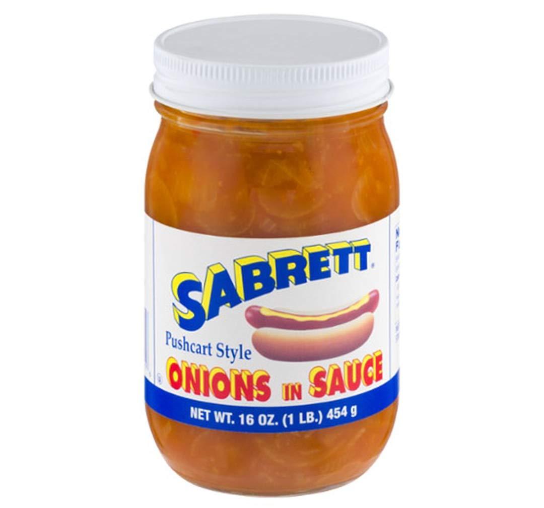 Sabrett Onions in Sauce 16 oz.