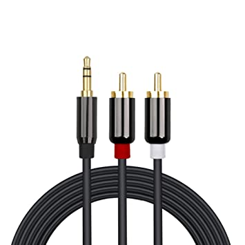 Cable de audio RCA Bolongking RCA, 3,5 mm conector de estéreo a cable divisor de ...