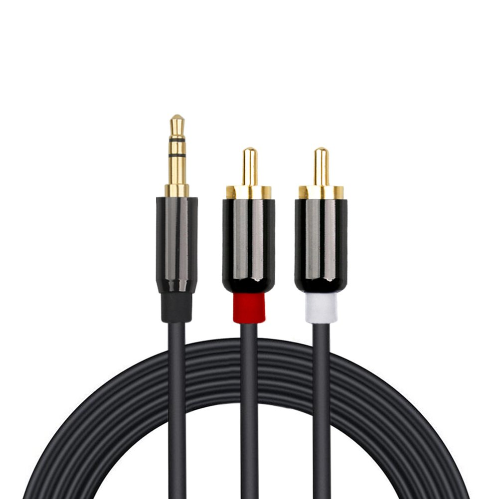 Cable de audio RCA Bolongking RCA, 3,5 mm conector de esté