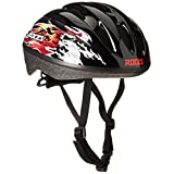 Roces Flames 5.0 Boys'Helmet Black / Red, 301415-001 MJR by Roces