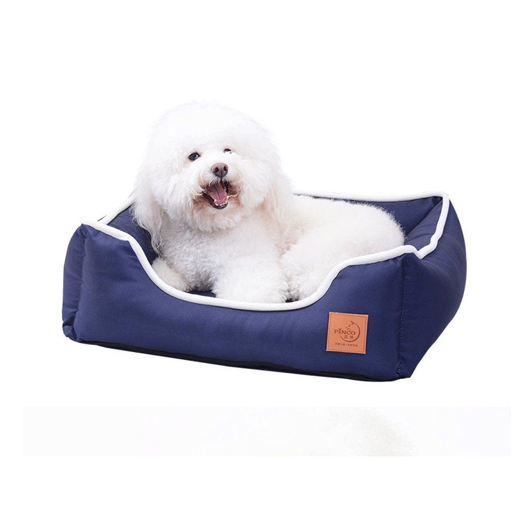 Cama de jaula de perro para el verano, a prueba de arañazos, resistente al agua, extraíble lavable, trajes especialmente para perros medianos en jaulas ...