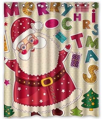 Amazon.com: Unique Custom Merry Christmas the Santa Claus