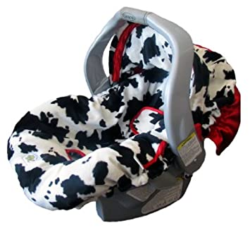 Cow Infant Carseat Cover