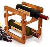 Rack shelf Shelf Bamboo Wine Rack Bar Wine Rack Ornaments Wine Bottle Rack Wine Bar Table Rack Storage Rack Shelf