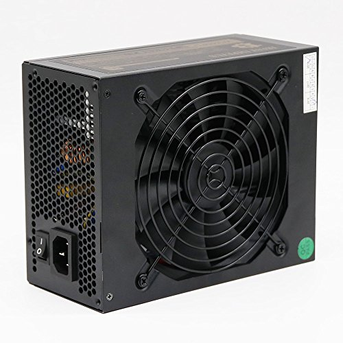 PC Power Supply 1600w Full Modular Power Supply 1600w 90 Plus Gold Gaming Power Supply 12V With Auto Fan Speed Control Support 6 Graphic Card RX470/480 RX570/580 For Eth ETC Zcash Ethereum Mining Rig