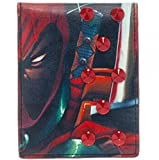Marvel Comics DEADPOOL Character Studded Bi Fold Wallet