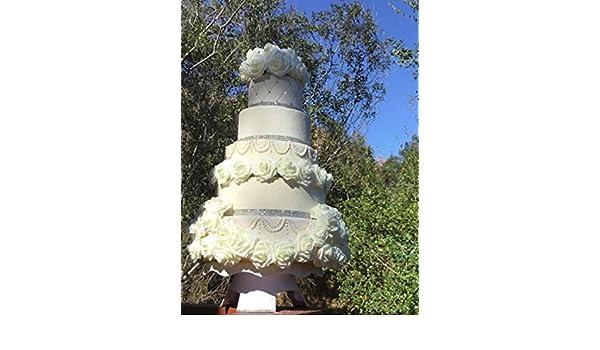 Amazon Com Wedding Faux Cake Fake Cake Looks Real Handmade