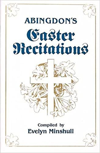 Book Abingdon's Easter Recitations by Evelyn Minshull (1986-01-03)