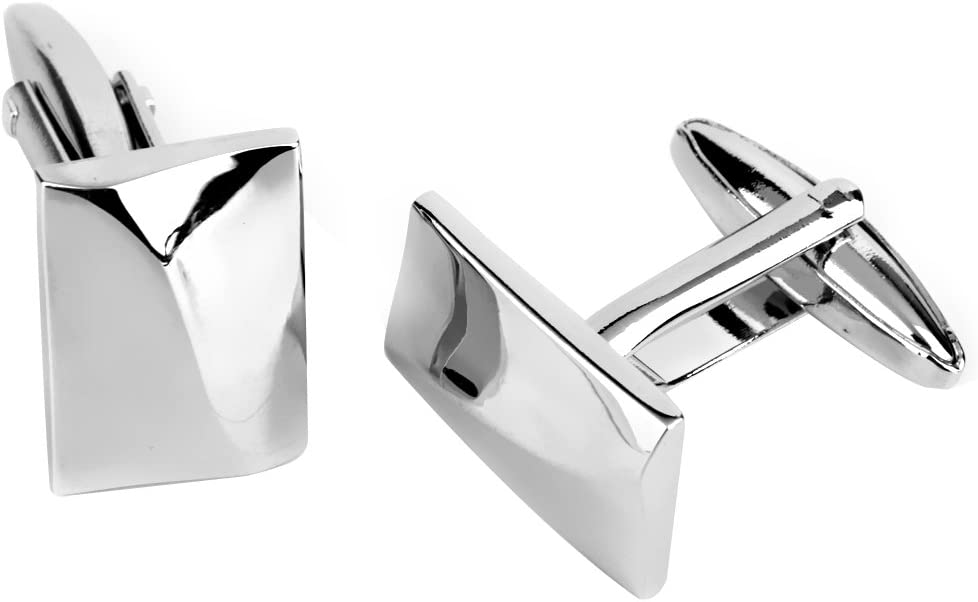 Men Cufflinks Set for Mens Business Wedding Party Jewelry Gift Random Color