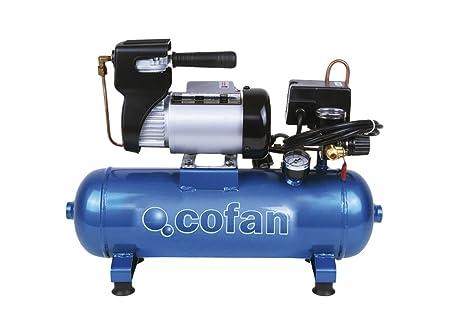 Cofan 09001001 Compresor eléctrico 0.011 V, 6 l