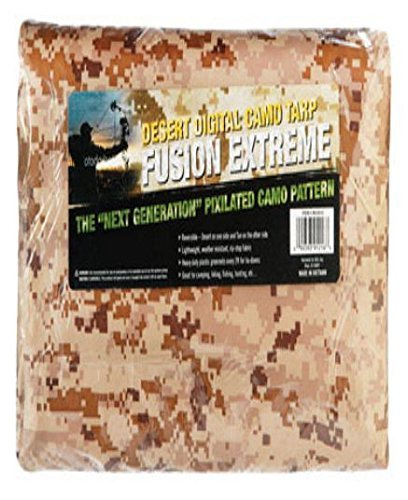 Ace Tarps - TARP DIGITAL DESERT12X16 by FUSION EXTREME MfrPartNo DS1216