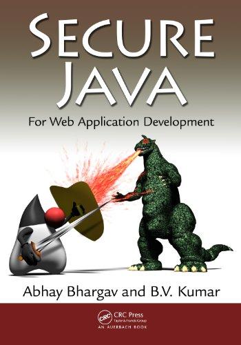 Download Secure Java: For Web Application Development Pdf