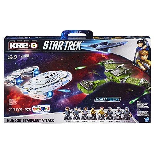 KRE-O Star Trek Klingon Starfleet Attack (Star Trek Toys Kre O)