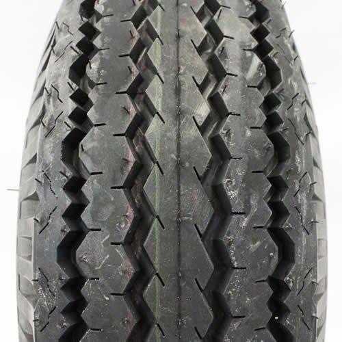 1120 lb capacity Kenda 5-hole 9 x 6.5 White Trailer Wheel and Tire
