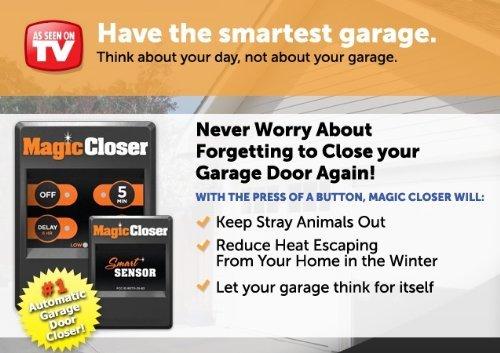 Magic Closer Automatic Garage Door Closer Import It All