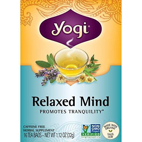 Amazon Com Yogi Tea 16 Tea Bags Honey Lavender Stress