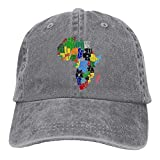 jacson The Great Continent Africa Unisex Adult Adjustable Baseball Dad Hats