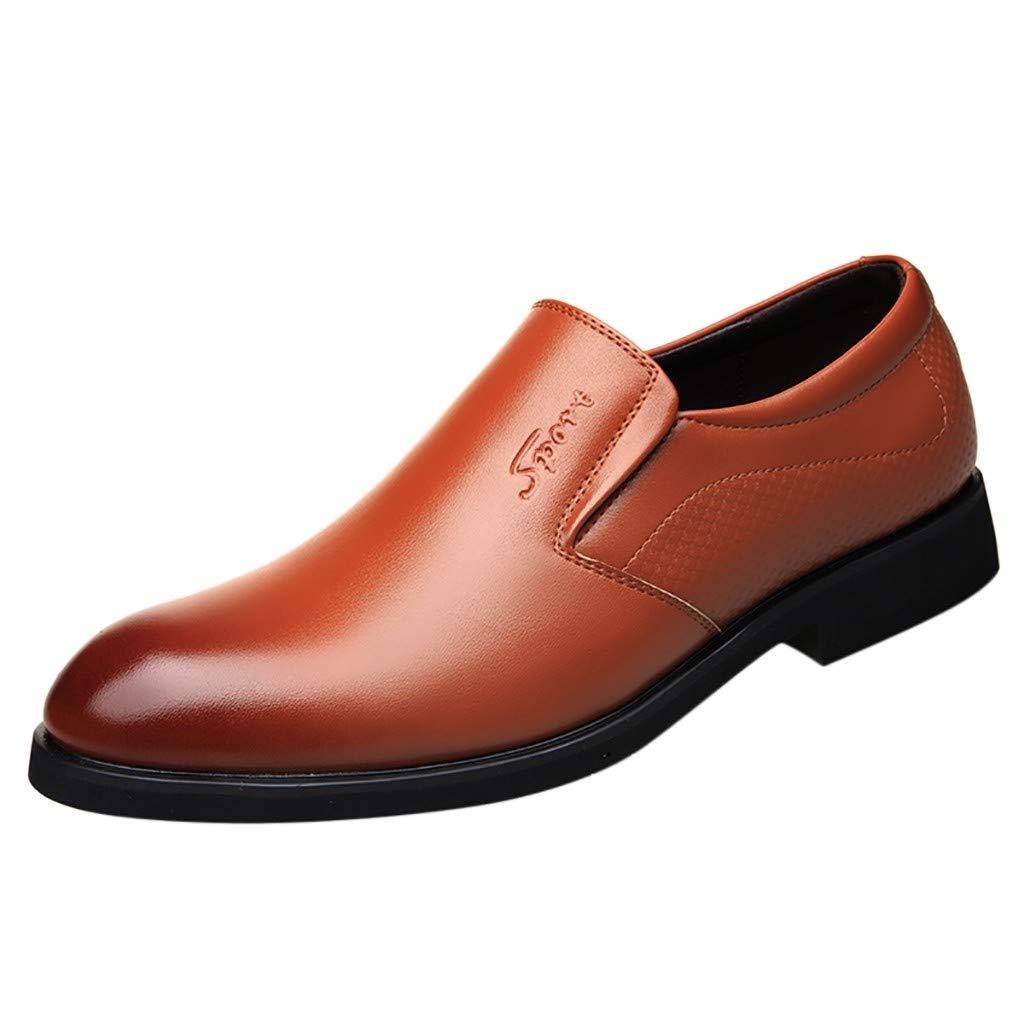 Men's Oxford Sneaker Dress Shoes-Men Business Four Seasons Men's Business Shoes Lazy Casual England Work Shoes