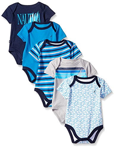 Nautica-Baby-Boys-5-Pack-Bodysuits